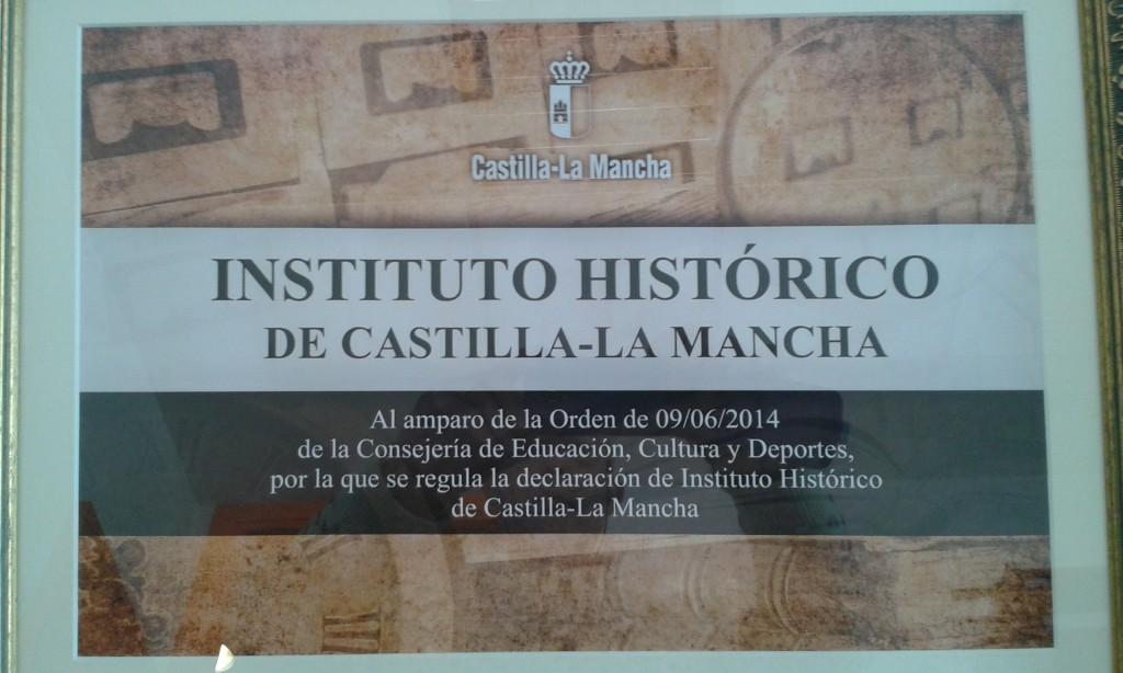 foto placa IES histórico